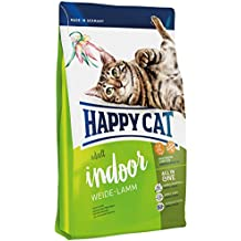 Happy Cat Fit & Well Indoor Adult Lamb Comida para Gatos - 10000 gr