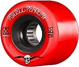 Best Skateboard Wheels - Powell-Peralta G-Slides 85A Skateboard Wheels, Red, 56 mm Review