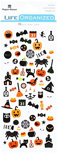 IONS Halloween Aufkleber, Micro, 3er Pack (Paper Crafts Halloween-dekoration)