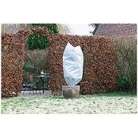 NATURE Housse d'hivernage 50 g/m² - Ø100 cm x 1,50m - Blanc