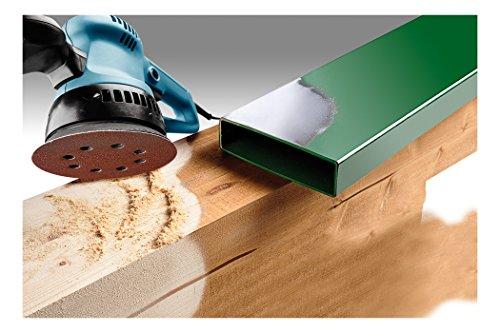 KWB Quick-Stick Schleifscheiben, Holz und Metall, selbsthaftend, Durchmesser 115 mm, gelocht, 4918-18