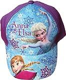 Disney Frozen/Die Eiskönigin Cap - Ein Herz für immer - Eisschlacht zwischen Anna und Elsa - Lila/Mehrfarbig