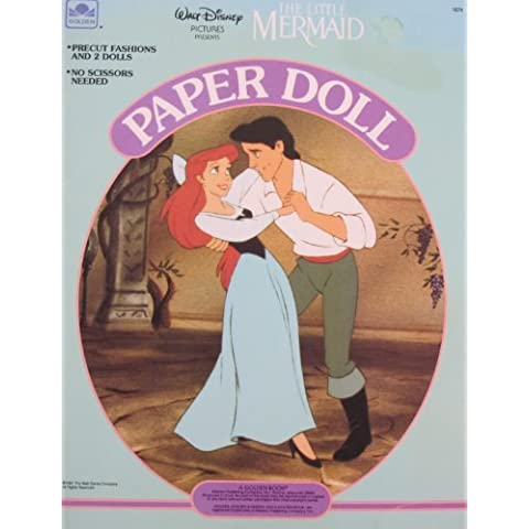 Walt Disney The LITTLE MERMAID PAPER DOLL