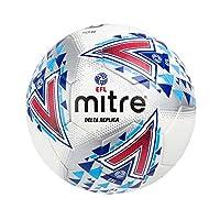 Mitre E.F.L Football The Official Replica of The EFL Delta, White, Size 5
