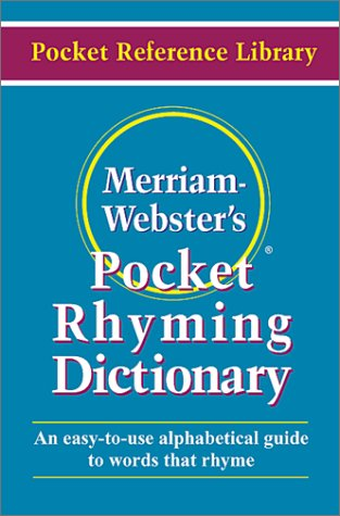 Pocket Rhyming Dictionary (Pocket reference library)