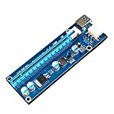 Unterbrechen USB 3.0 PCI-E Express 1 X Extender Riser Card Adapter 6pin Power Kabel 30 cm