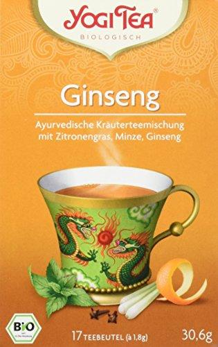 Yogi Tea Ginseng Flower Bio, 3er Pack (3 x 31 g)