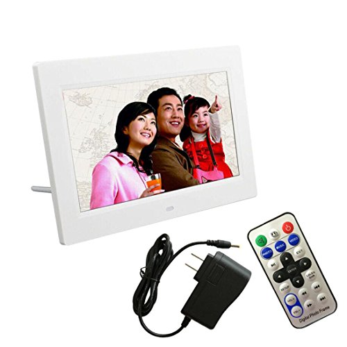 Digital Photo Frame - Kingwo 7inch LCD HD Digital Photo