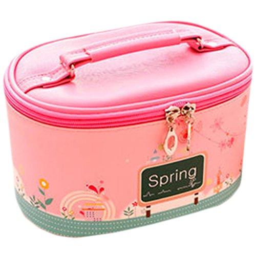 Etanche Maquillage Box / joli pochette cosmétique, rose(printemps)