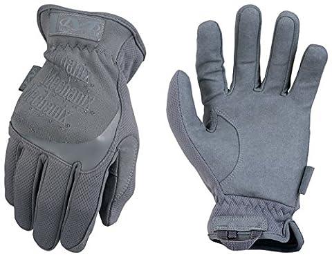 Mechanix Wear - FastFit Wolf Grey Gants (Medium, Gris)