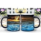 LeeQueen Magica Taza - Calor Reactiva Cambia de Color Taza de Café - Ajustar Mis VelasLeeQueen Magica Taza - Calor Reactiva Cambia de Color Taza de Café -