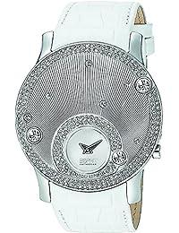 Esprit Collection - EL101632F02 - Montre Femme - Quartz Analogique - Bracelet Cuir Blanc