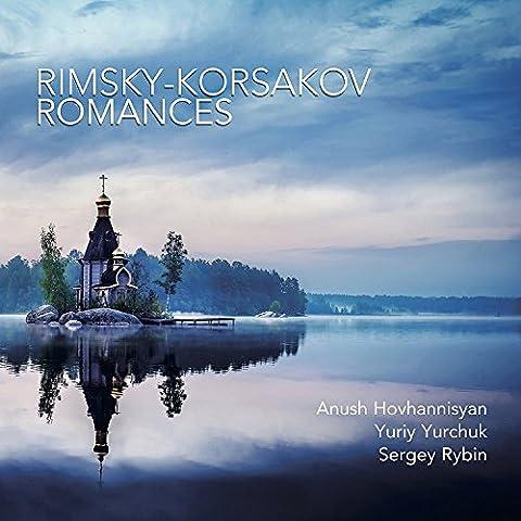 Nikolai Rimsky-Korsakov: Romances [Anush Hovhannisyan; Yuriy Yurchuk; Sergey Rybin] [Stone Records: