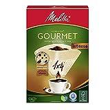 Gourmet Melitta filtri di caffè, gusto natura Maxx Brown, 4 Confezioni da 80 pezzi
