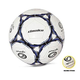 OPTIMUM Ballon de Foot Classico, Homme, Classico, Noir/Bleu