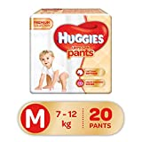 Huggies Ultra Soft Pants Premium M Diapers (20 Pieces)