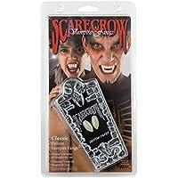 Scarecrow Fangs In Coffin Box (accesorio de disfraz)