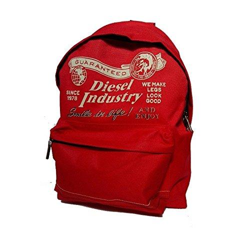 Diesel zaino scuola americano rosso
