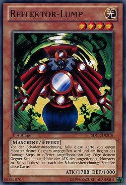 Reflektor Lump - SDCR-DE016 - Yu-Gi-Oh - deutsch - Unlimited - NIFAERA Spielwaren