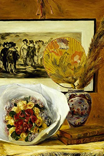 Pierre Auguste Renoir Still Life (Art Journal: Pierre-Auguste Renoir - Still Life with Bouquet - Art Cover College Ruled Notebook | 110 Pages)