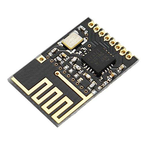 LaDicha Puce Mini Module Si24R1 sans Fil Série Nf-03 2.4G Transparent