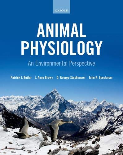 Animal Physiology: an environmental perspective John Brown Oxford