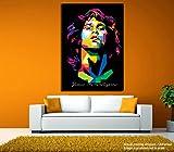 #10: JunkYard Canvas Painting - Jim Morrison - Lizard King - Doors - Modern Art