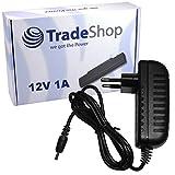 Netzteil Ladegerät Ladekabel Adapter 12V/1A 5,5mm x 2,5mm passend für AVM FritzBox 7412, Netgear GS105e GS105ge GS108, GS116e GS608 Vodafone Easybox 803a 903 904 LTE Vodafone Voicebox RL300 RL302 RL400