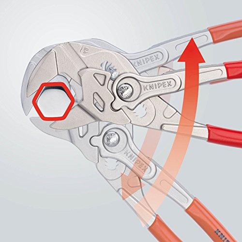 Knipex Zangenschlüssel – Greifzange und Schraubenschlüssel, 250 mm, Greifweite bis 46 mm - 5