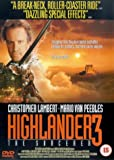 Highlander 3 - The Sorcerer [DVD] [1994]