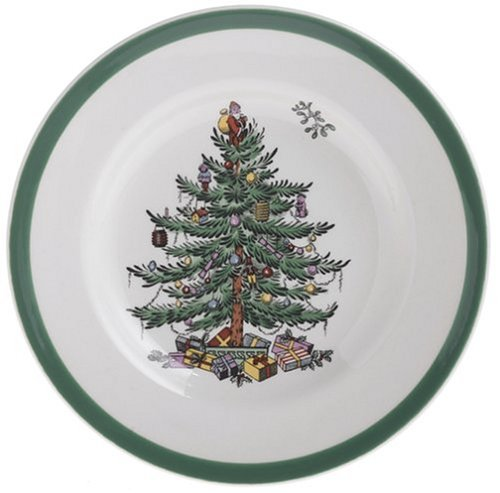 Spode Christmas Tree China - White/Multi 16.5cm Bread & Butter Plate Spode China Christmas Tree
