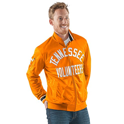 Arch Logo Zip (G-III Sports NCAA Herren Contender Full Zip Track Jacket, Herren, Contender Full Zip Jacket, Orange, X-Large)