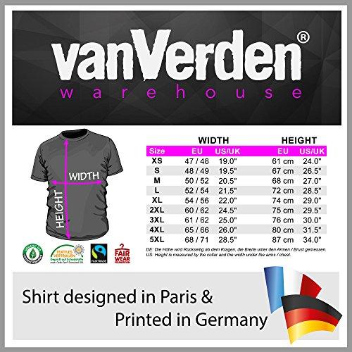 511BCxn7FVL - vanVerden Herren Fun T-Shirt Männer Kochen Nicht Grillen Grillmeister Plus Geschenkkarte, Größe:XXL, Farbe:Schwarz