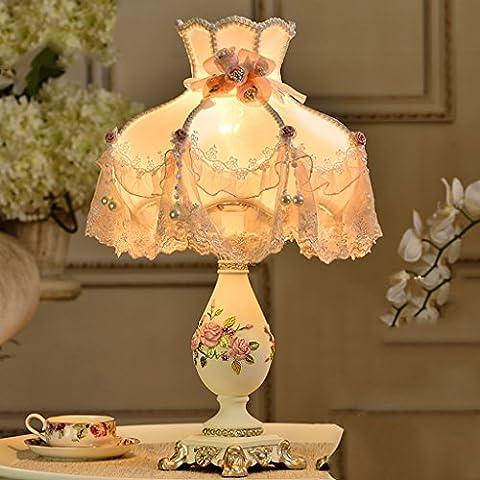 German goodwill Continental lampada da letto lampada da comodino creativo nozze principessa pastorale elegante lampada decorativa