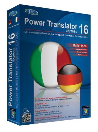 Power Translator 16 Express Deutsch-Italienisch