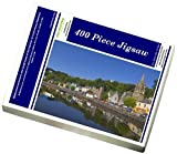 Photo Jigsaw Puzzle of Multicoloured houses and small boats in the harbour at Tobermory, Balamory