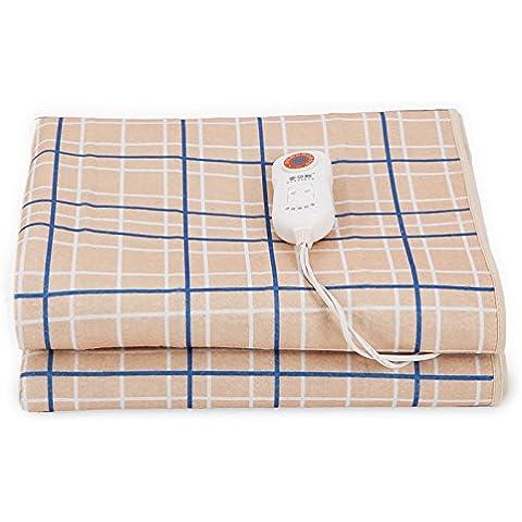 Coperta elettrica per riscaldare e elettrico a doppio letto singolo