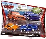 Disney Cars 2 Movie Grem & Damaged Rod Torque Redline 2 Pack