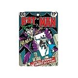 Magnet Metal Batman Comic Cover Official Gift Film Merchandise