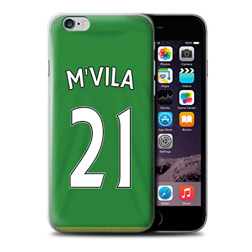 Offiziell Sunderland AFC Hülle / Case für Apple iPhone 6S+/Plus / Pack 24pcs Muster / SAFC Trikot Away 15/16 Kollektion M'Vila