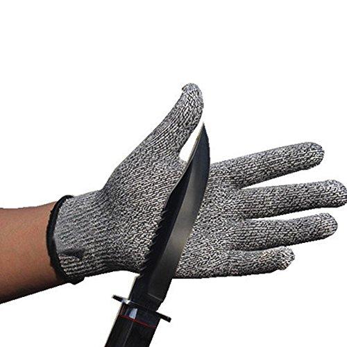 Pawaca Schnittschutzhandschuhe Arbeitshandschuhe -(1 Paar)Küchensicherheit Handschuhe - Reparatur, Schneiden, Mechaniker,Hochleistung Level 5 Handschutz Schnittschutz
