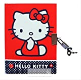 1 JOURNAL INTIME HELLO KITTY CARNET SECRET CADENAS 2 CLEFS