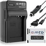 Batería + Cargador DMW-BCM13 para Panasonic Lumix DMC-FT5, TZ40, TZ41, TS5, ZS30