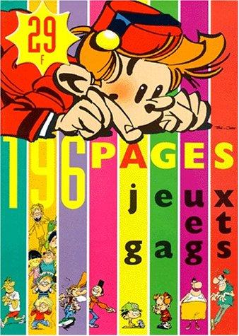 Spirou magazine, Hiver 1999 : Jeux et gags
