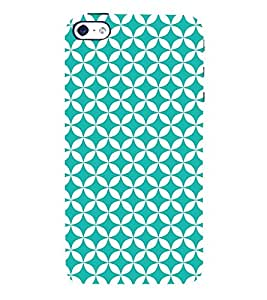 Heavy Green Circle 3D Hard Polycarbonate Designer Back Case Cover for Apple iPhone 4S