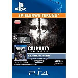 Call of Duty: Ghosts – Season Pass [Zusatzinhalt] [PS4 PSN Code für österreichisches Konto]