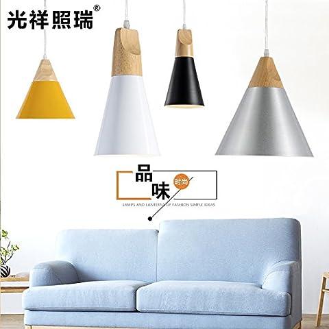 Il Nordic stile minimalista solido LED lampadari