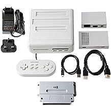 Cyber Gadget 12 in 1 Retro Freak CY-RF-BC Spielkonsole mit Controller Adapter Premium Edition PAL Version