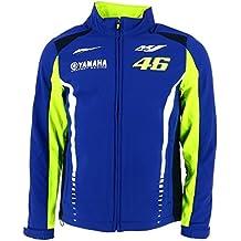 Valentino Rossi VR46 Moto GP M1 Yamaha Racing Soft Shell Chaqueta Oficial 2017