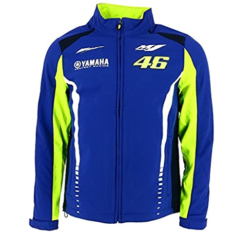 Valentino Rossi VR46 Moto GP M1 Yamaha Racing Soft Shell Veste Officiel 2017